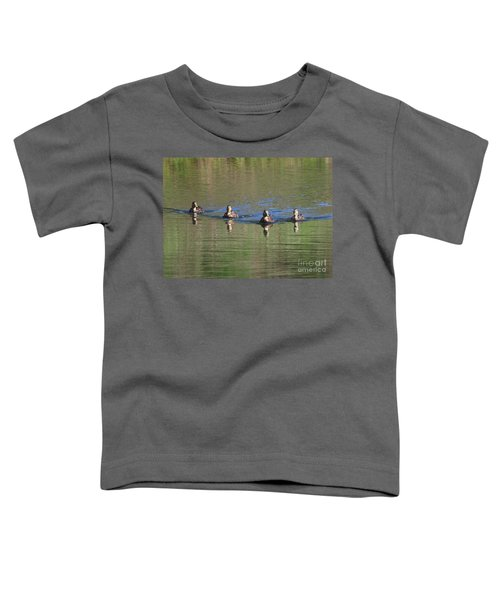 Ducks In A Row Toddler T-Shirt