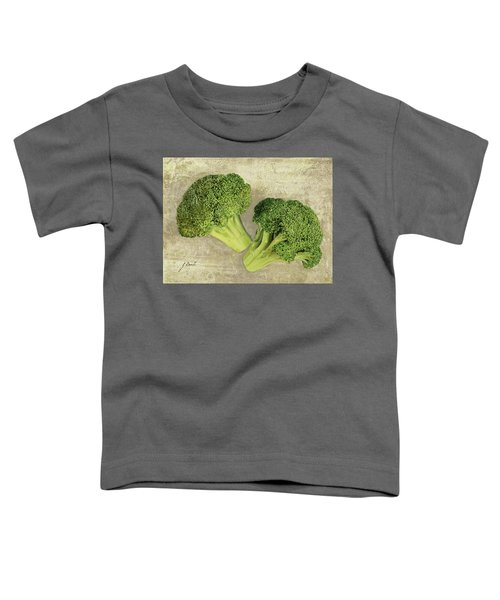 Due Broccoletti Toddler T-Shirt by Guido Borelli