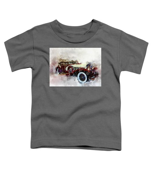 Duesenberg Watercolor Toddler T-Shirt
