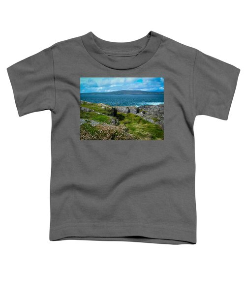 Toddler T-Shirt featuring the photograph Dunmanus Bay Seascape by James Truett