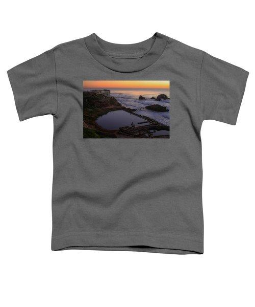 Dusk At Sutro Baths Toddler T-Shirt