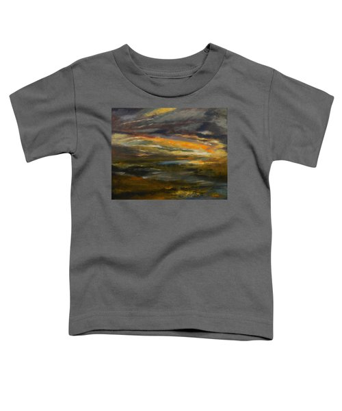 Dusk At The River Toddler T-Shirt