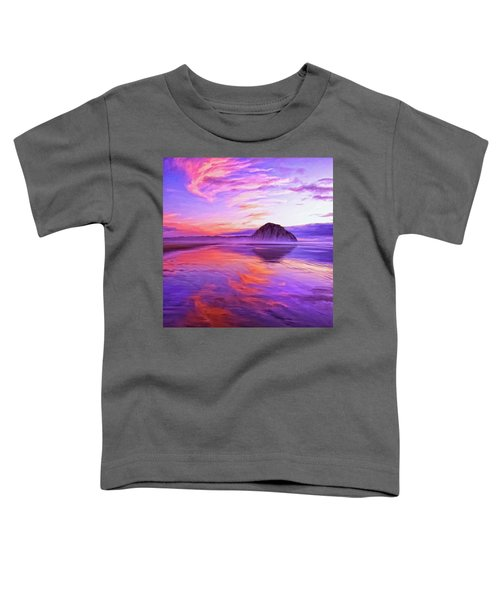 Dusk On The Morro Strand Toddler T-Shirt