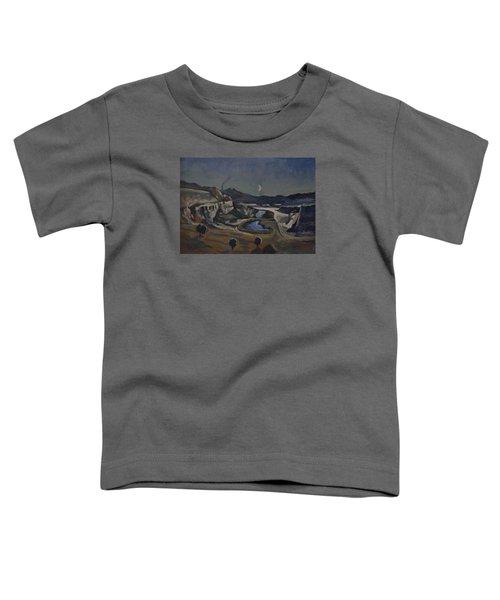 Dusk Over The Sint Pietersberg Toddler T-Shirt by Nop Briex