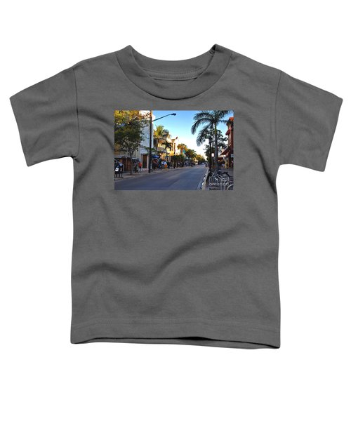 Duval Street In Key West Toddler T-Shirt