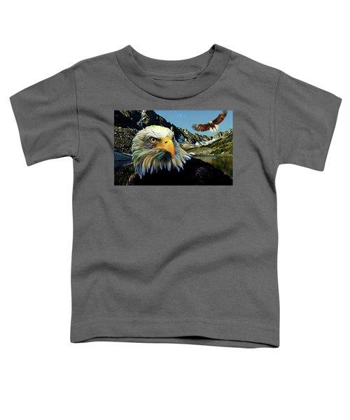 Eagles Lake Toddler T-Shirt