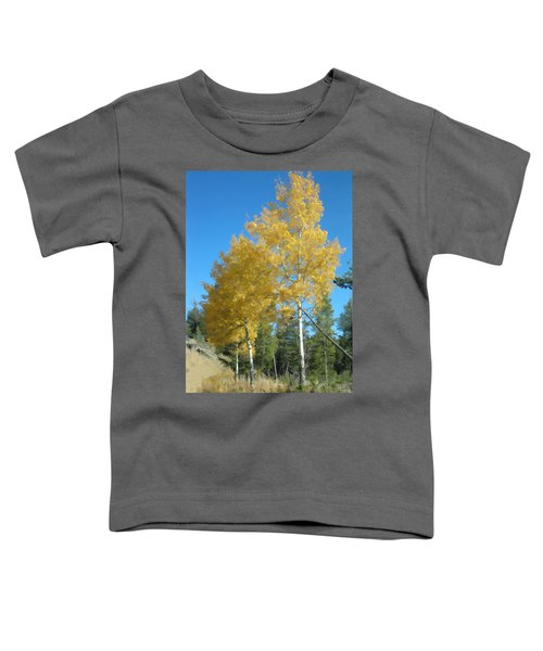 Early Autumn Aspens Toddler T-Shirt