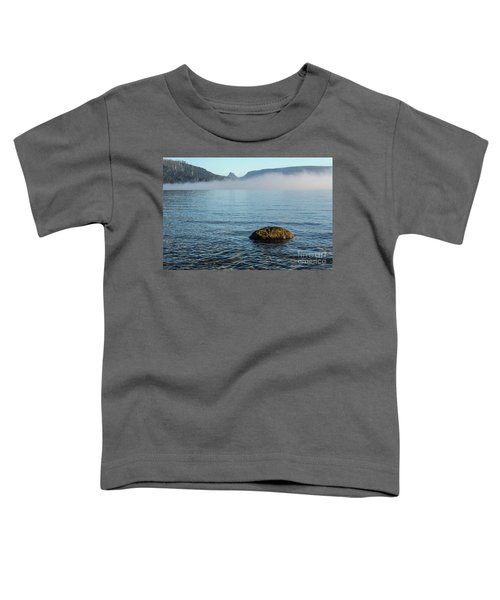 Toddler T-Shirt featuring the photograph Early Morning At Lake St Clair by Werner Padarin