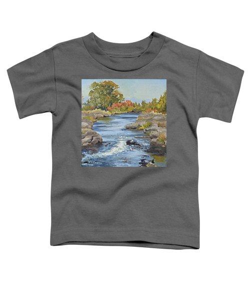 Early Morning In Idaho Toddler T-Shirt