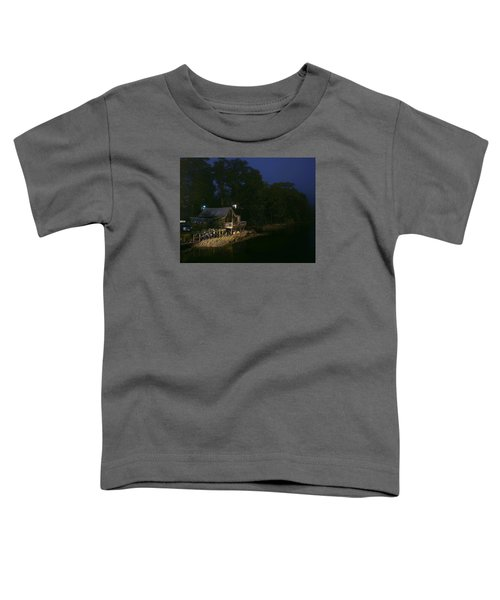 Early Morning On The River Toddler T-Shirt