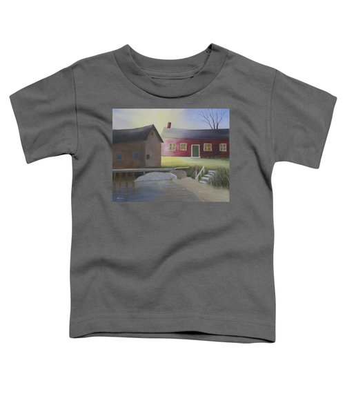 Early Morning Sun At The Shop Toddler T-Shirt