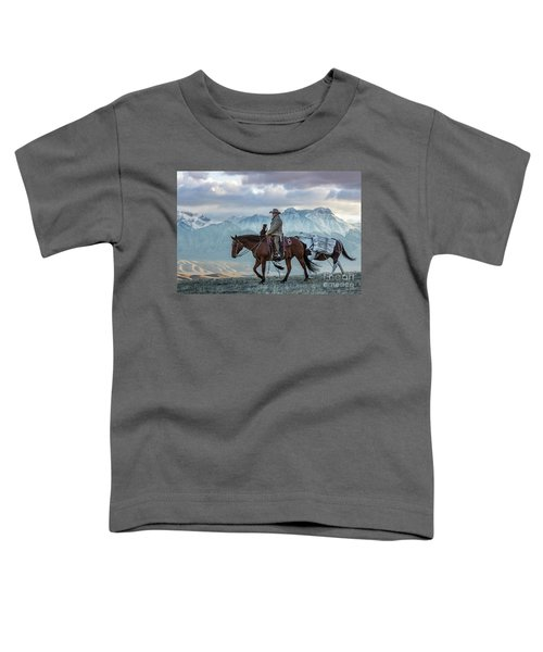 Early October Hunt Wild West Photography Art By Kaylyn Franks Toddler T-Shirt