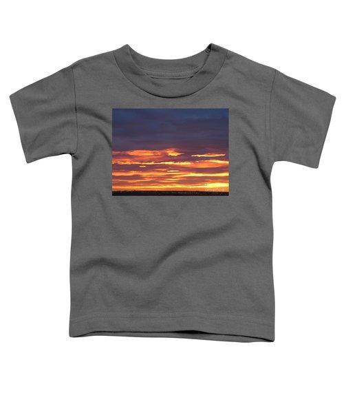 Early Prairie Sunrise Toddler T-Shirt
