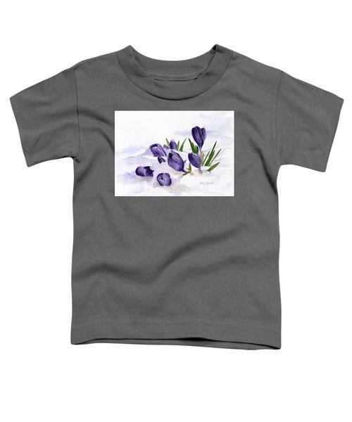 Early Spring In Montana Toddler T-Shirt