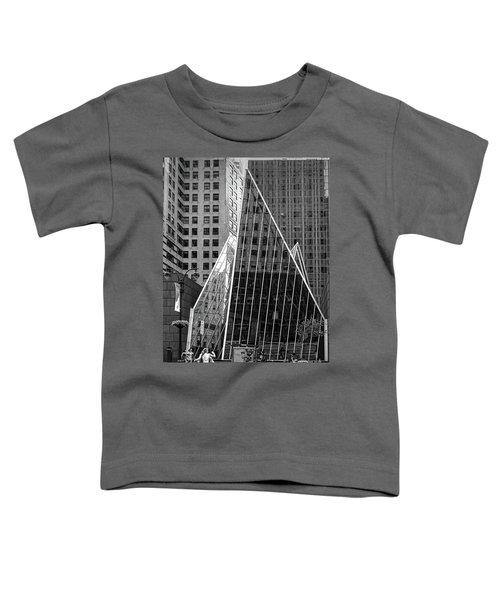 East 42nd Street, New York City  -17663-bw Toddler T-Shirt