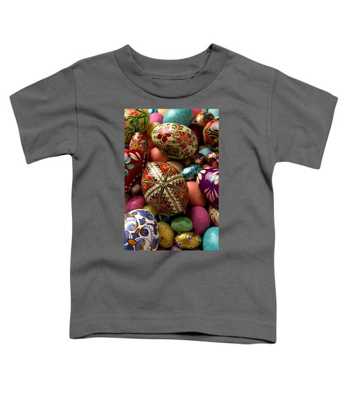Easter Eggs Toddler T-Shirt