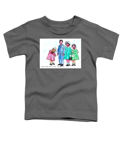 Easter Sunday - After Church Toddler T-Shirt