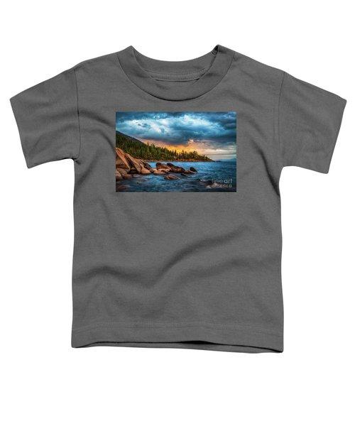 Eastern Glow At Sunset Toddler T-Shirt