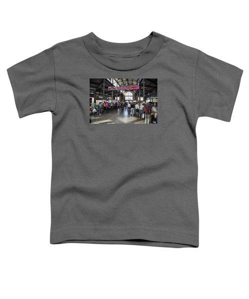 Eastern Market Detroit Saturday  Toddler T-Shirt