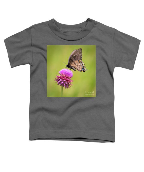 Eastern Tiger Swallowtail Dark Form  Toddler T-Shirt