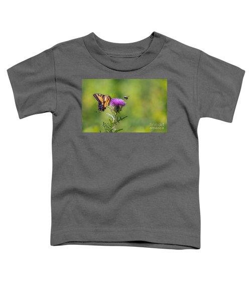 Eastern Tiger Swallowtail Toddler T-Shirt