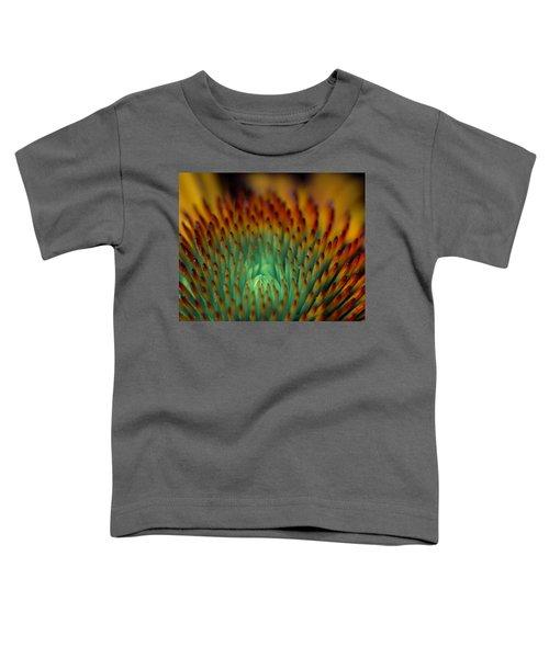 Echinacea Macro Toddler T-Shirt