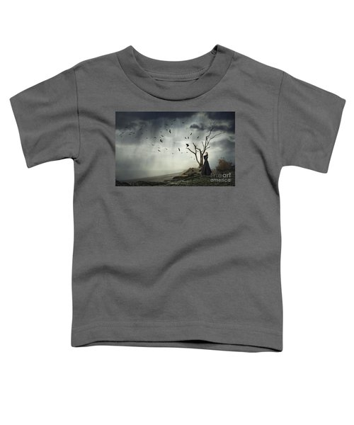 Echoes Of Despair Toddler T-Shirt