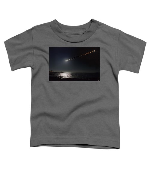 Eclipse Of The Moon Toddler T-Shirt