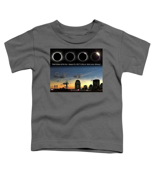 Eclipse - St Louis Toddler T-Shirt