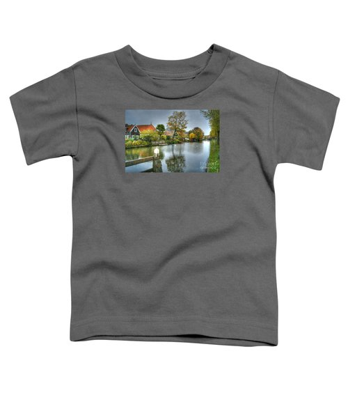 Edam Waterway In Holland Toddler T-Shirt