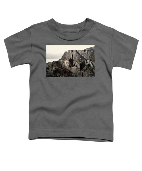 Toddler T-Shirt featuring the photograph Edge Of Pukaskwa by Doug Gibbons