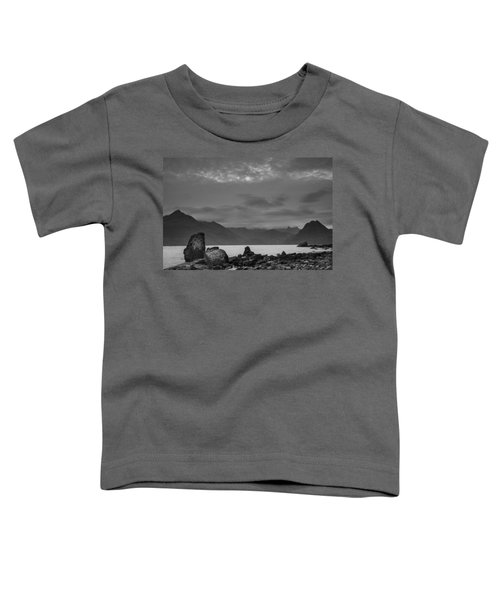 Egol Beach On The Isle Of Skye In Scotland Toddler T-Shirt