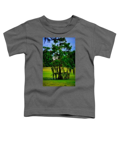 Egret Tree Toddler T-Shirt