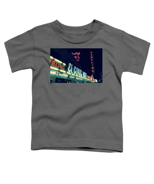El Cortez Hotel At Night Toddler T-Shirt
