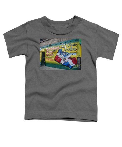 El Viejo Jobo  Toddler T-Shirt by Cole Thompson
