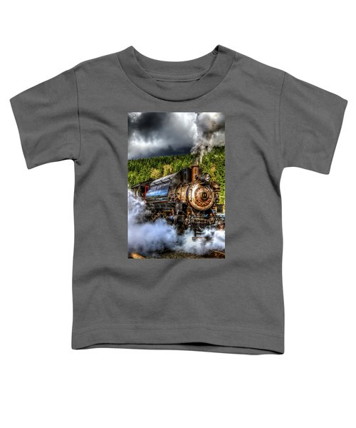 Elbe Steam Engine #17 Hdr Toddler T-Shirt