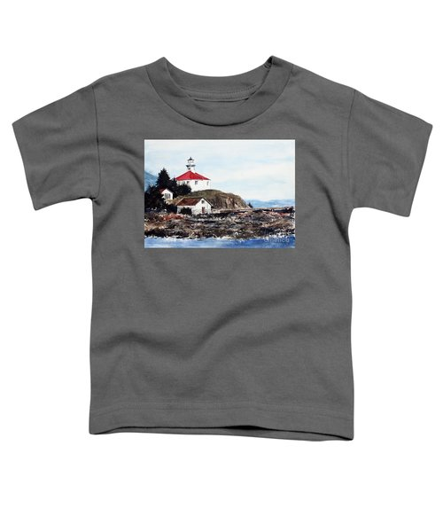 Eldred Rock Lighthouse Toddler T-Shirt
