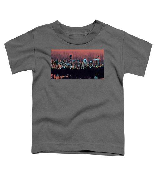 Electric Austin At Dusk Toddler T-Shirt