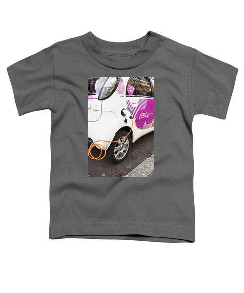 Electric Car Toddler T-Shirt