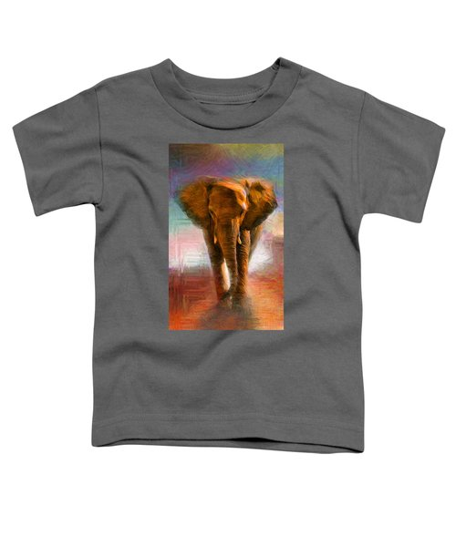 Elephant 1 Toddler T-Shirt