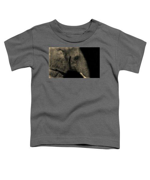 Elephant Portrait Toddler T-Shirt