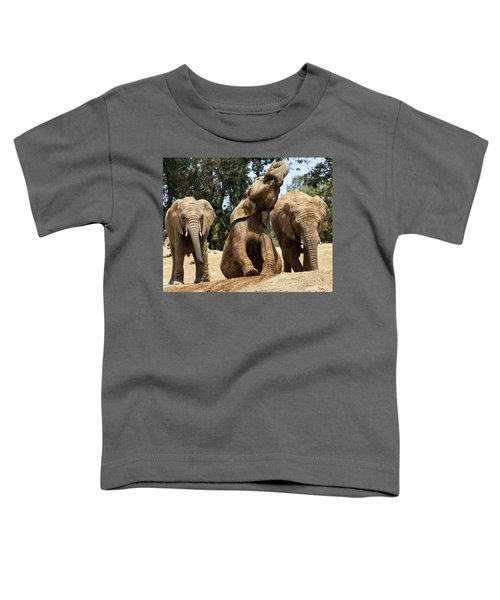 Elephants Toddler T-Shirt