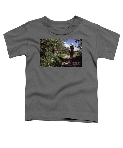 Eliza's Walk In The Countryside. Toddler T-Shirt