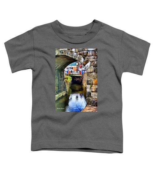 Ellicott City Bridge Arch Toddler T-Shirt