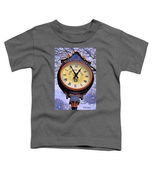 Ellicott City Clock Toddler T-Shirt
