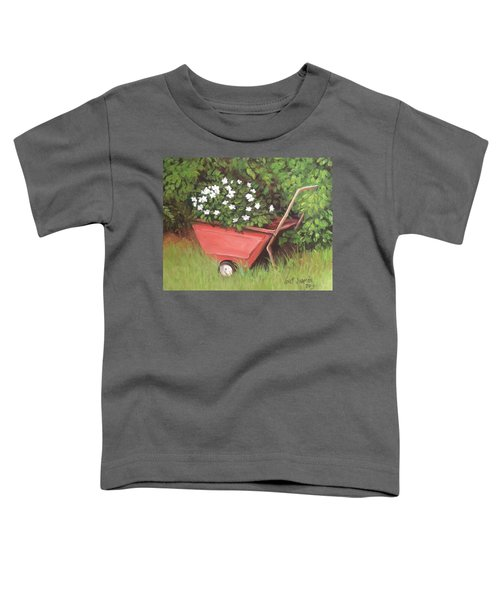 Eloise's Garden Cart Toddler T-Shirt