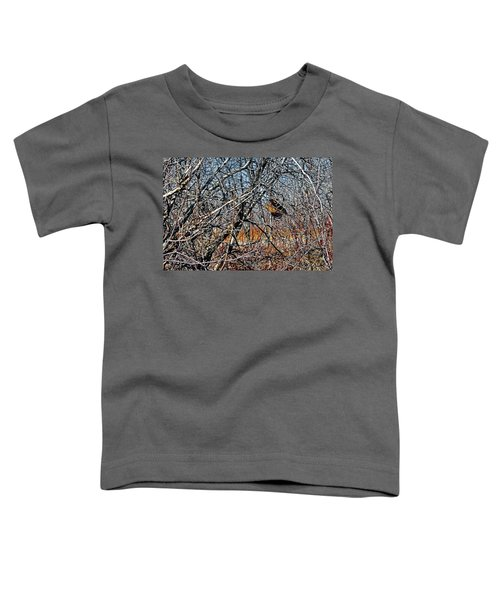Elusive Woodcock's Woody Environment Toddler T-Shirt