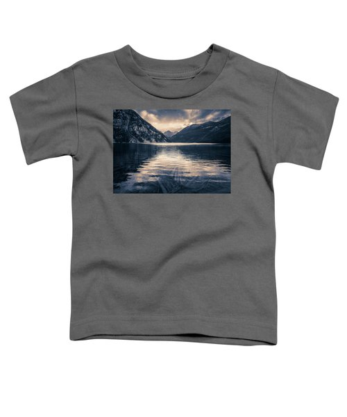 Toddler T-Shirt featuring the photograph Emeral Lake by Whit Richardson