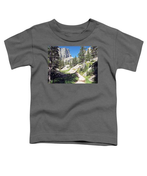 Emerald Lake Trail - Rocky Mountain National Park Toddler T-Shirt