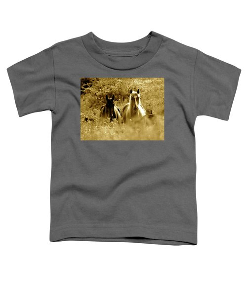 Emerging From The Farm Toddler T-Shirt